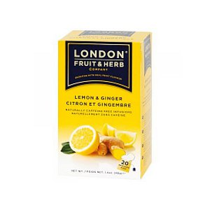 LONDON citrón, zázvor 40g