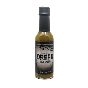Cajohn's The Formidable Dread  Hot Sauce 148 ml