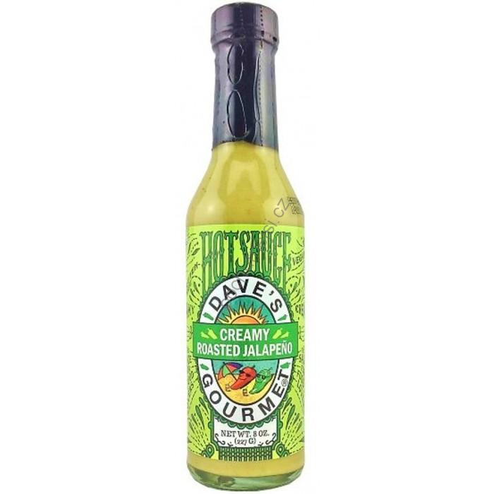 Dave's Creamy Garlic Roasted Jalapeno Hot Sauce 227g