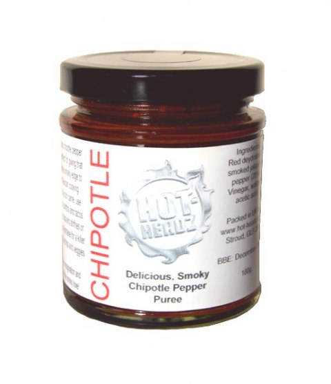 Hot-Headz! Smoky Chipotle Pepper Puree 180 g