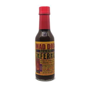 Mad Dog Inferno Ghost Pepper Edition Reserve Hot Sauce 148ml
