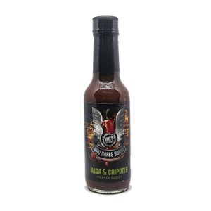 Who Dares Burns! Naga Chipotle Chilli Sauce 148ml