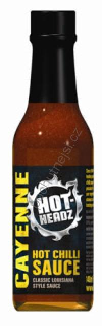 Hot-Headz! Cayenne Pepper Sauce 148ml