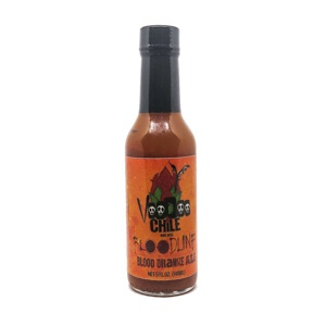 Voodoo Chile Bloodline Hot Sauce with Blood Orange ALE 148ml